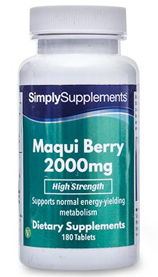 Maqui Berry Tablets 2,000mg