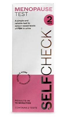 Menopause Test - SELFCheck