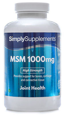 MSM Tablets 1,000mg