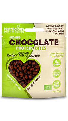 Nutrilicious Chocolate Protein Bites