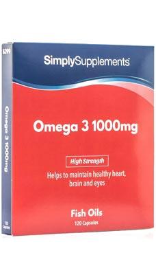 Omega 3 Capsules 1,000mg
