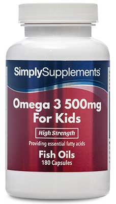 Omega 3 Capsules for Kids / Children - S503