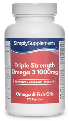 Triple Strength Omega 3 Capsules - S446