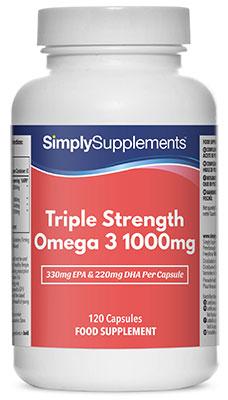 Triple Strength Omega 3 Capsules - S446