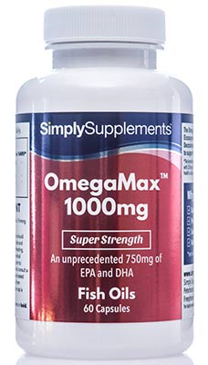 OmegaMax Capsules with EPA & DHA - B860
