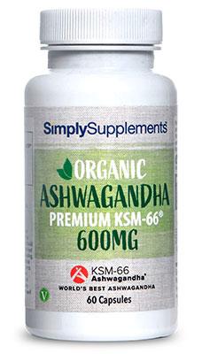 Organic KSM-66® Ashwagandha 600mg