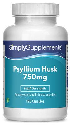 Psyllium Husk Capsules 750mg