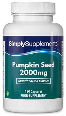 Pumpkin Seed Capsules 2,000mg