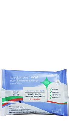 Readiwipes Flushable Hand & Face Wet Wipes