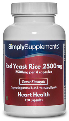 Red Yeast Rice 2,500mg