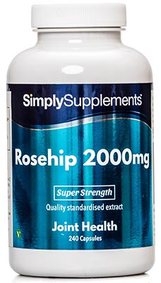 240 Capsule Tub - rosehip supplements
