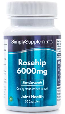 60 Capsule Tub - rosehip supplements