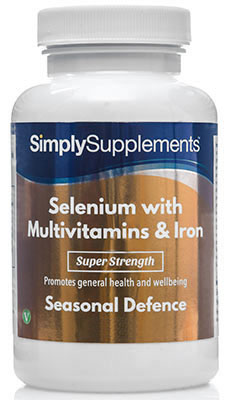 Selenium 220mcg with Multivitamins & Iron