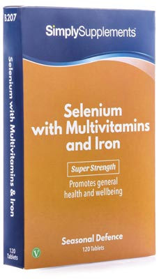 Selenium Tablets with Iron - B207
