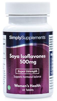 Soya Isoflavones 500mg