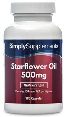 Starflower Oil Capsules - S334