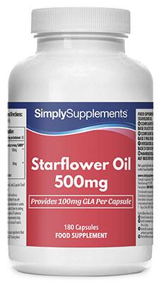 Starflower Oil Capsules - S334