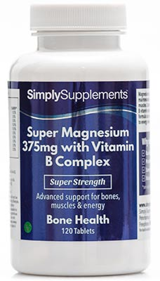 Super Magnesium 375mg with Vitamin B Complex