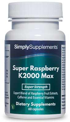 Raspberry Ketones Max Capsules - B561