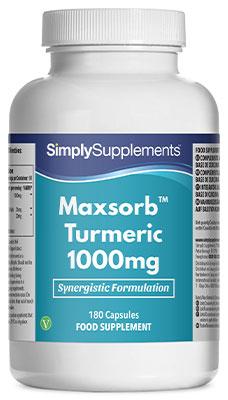 Maxsorb Turmeric 1000mg