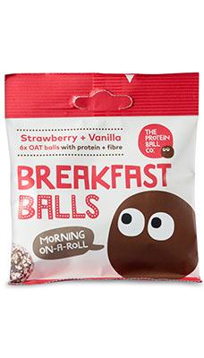 Vegan Protein Breakfast Balls