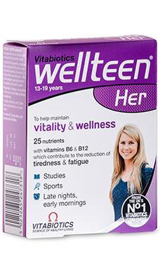 Vitabiotics WellTeen Her
