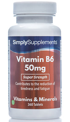Vitamin B6 Tablets 50mg