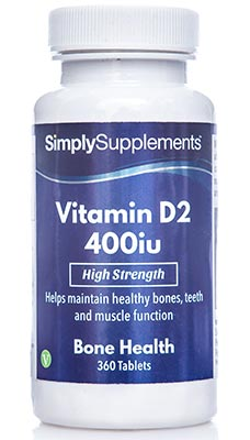 Vitamin D Tablets 400iu - E509