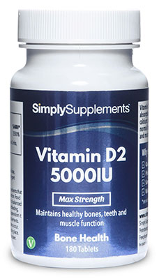 Vitamin D2 Tablets 5000iu - E596