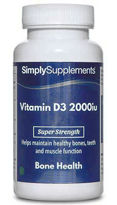 Vitamin D3 Tablets 2000iu - E489