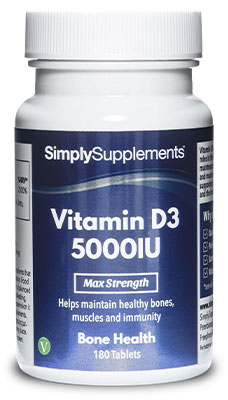 Vitamin D3 Tablets 5000iu - E594