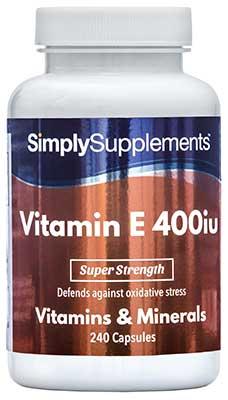 Vitamin E Capsules 400iu