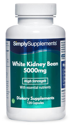 120 Capsule Tub - white kidney bean extract