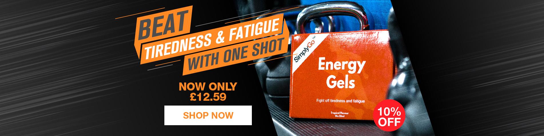 SimplyGo Energy Gels
