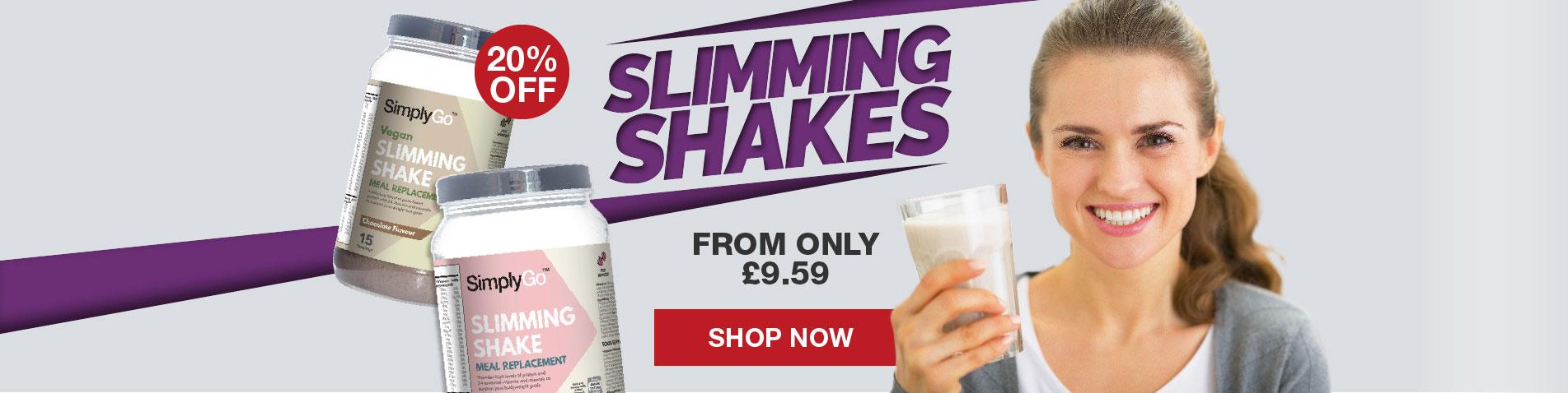 SimplyGo Slimming Shakes