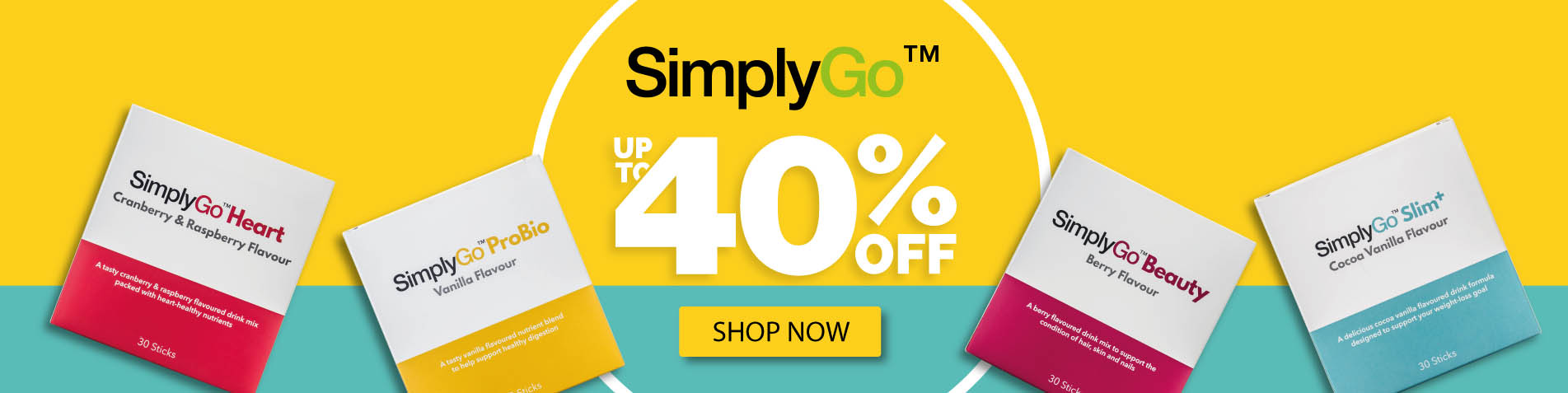 Shop the SimplyGo Range - up to 40% off