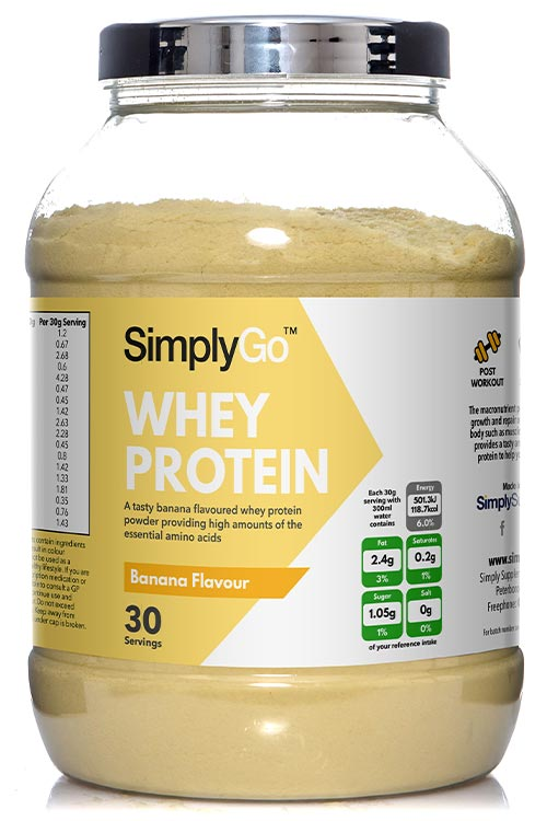 Banana Whey Protein Powder