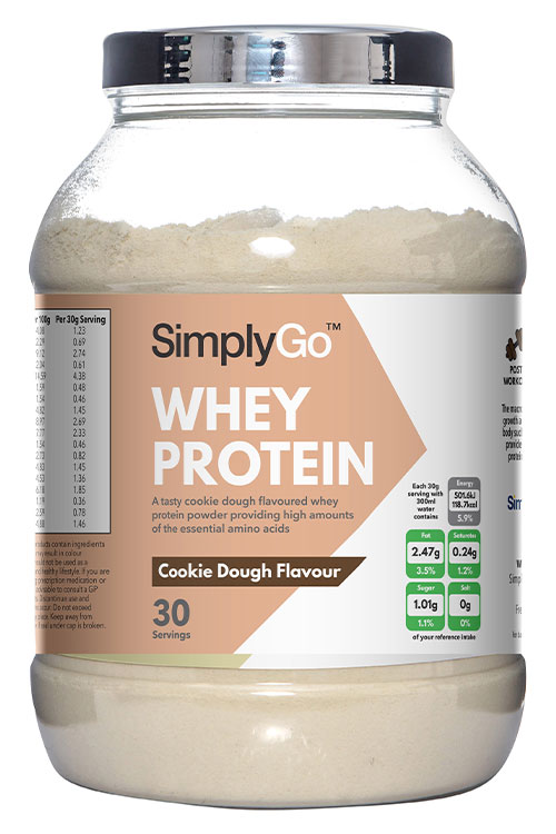 Cookie Dough Flavour Whey Protein - SG34