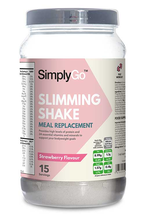 Slimming Shake - Strawberry Flavour - SG30