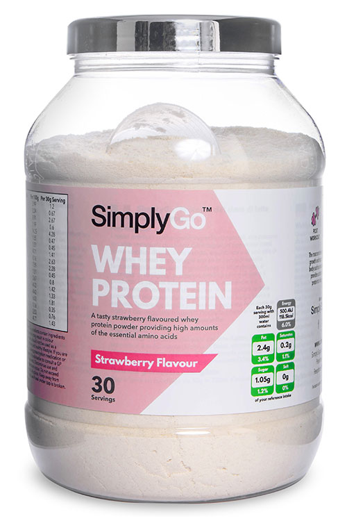 Strawberry Whey Protein Powder