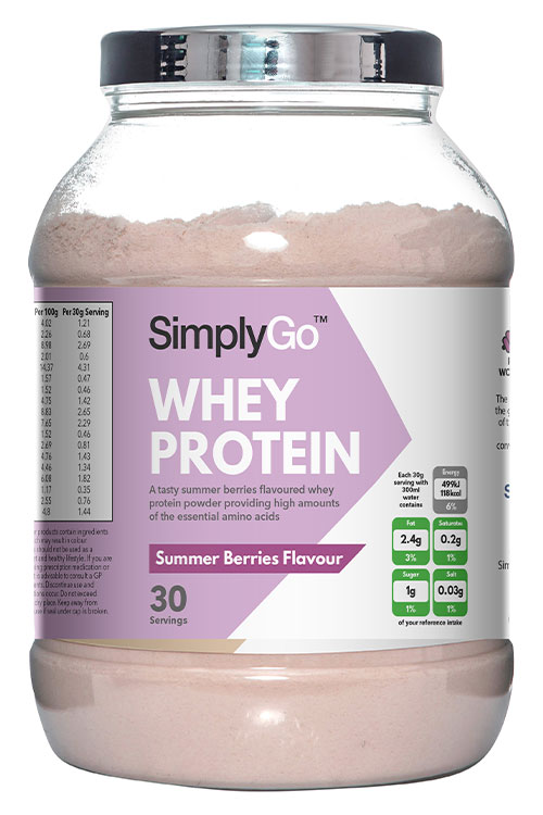 Summer Berries Whey Protein Powder
