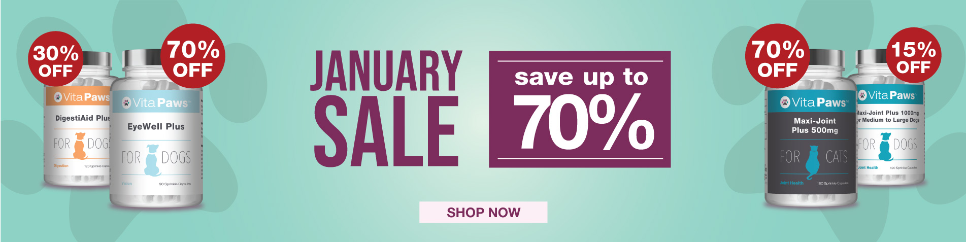 VitaPaws January Sale