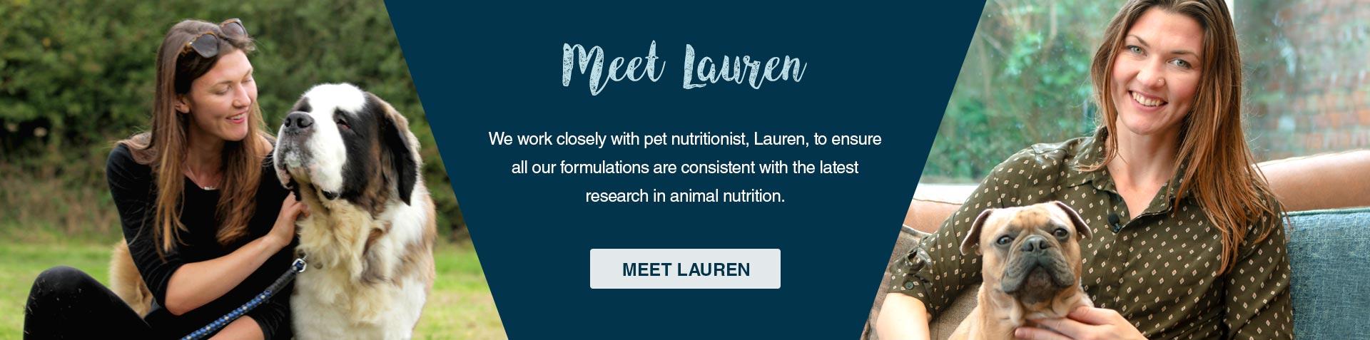 Meet Lauren, our Animal Nutritionist