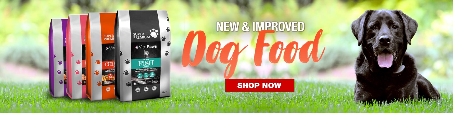 New - Dog Food