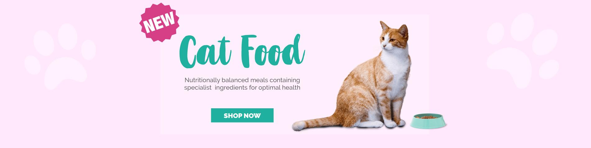 New VitaPaws Cat Food