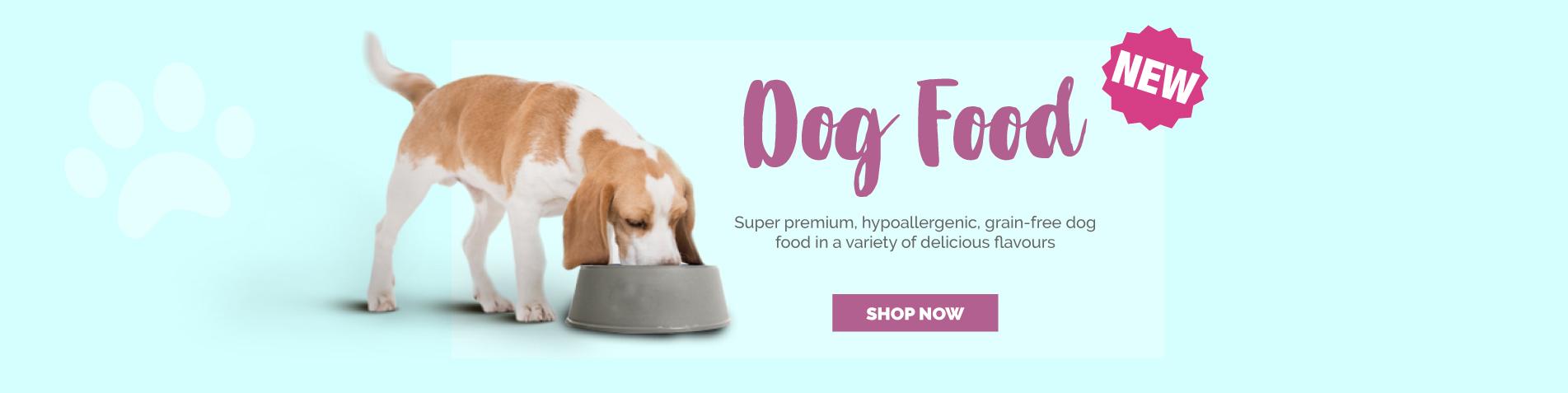 New VitaPaws Dog Food