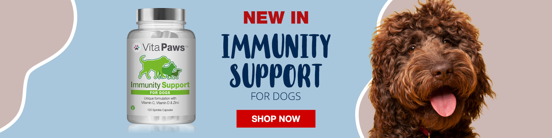 New Immunity Support Supplement for Dogs