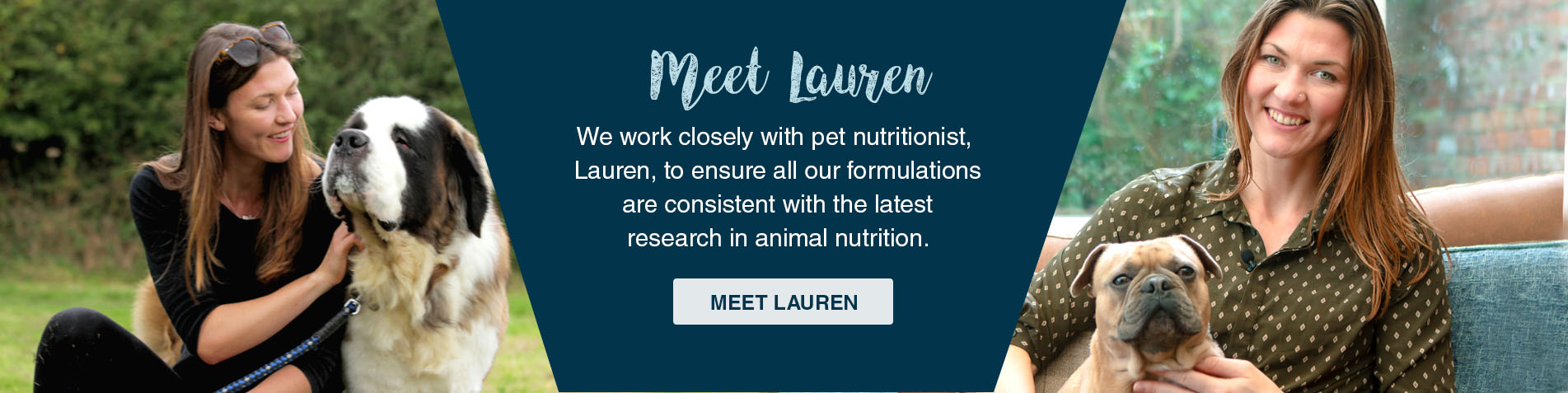 Meet Lauren, our Animal Nutritionist