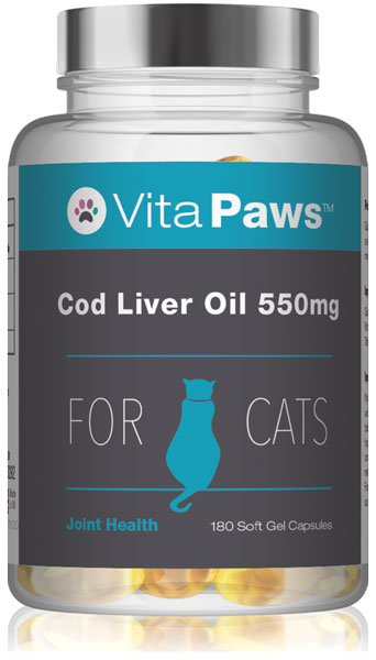 Cod Liver Oil for Cats 550mg