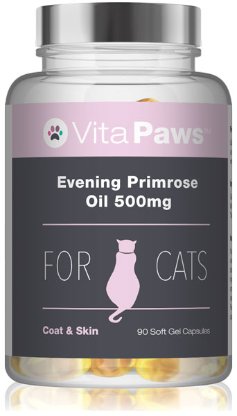 Evening Primrose Oil for Cats 500mg